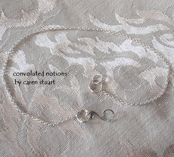 necklace extender bracelet converter handmade sterling silver jewelry chainger