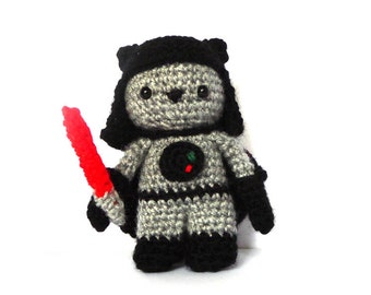 Sith Cat Amigurumi Pattern - Star Wars Crochet