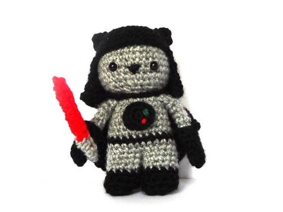 Death Star Amigurumi Pattern : Sith Cat Amigurumi Pattern Star Wars Crochet
