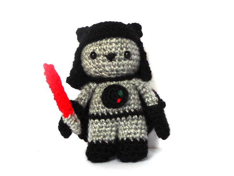 Amigurumi Sushi Pattern Free : Sith Cat Amigurumi Pattern Star Wars Crochet