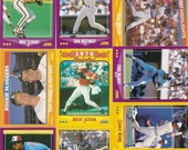132 Old VINTAGE 1988 SCORE Baseball PICTURE Cards