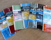 Vintage Seam Binding Destash Mixed Lot of 7