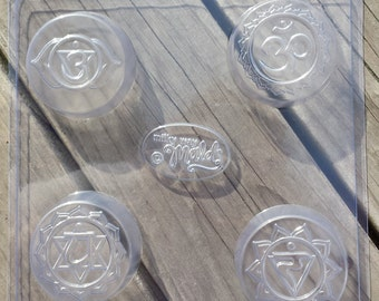 Chakras 1 Soap Mold