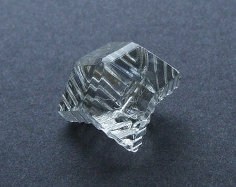 Vintage Clear Glass Multi Shaped Button