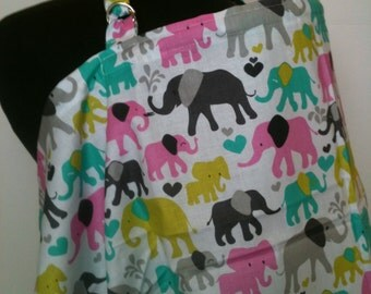 Nursing Cover- Elephants