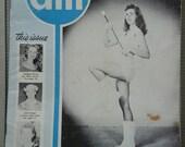 Vintage 1950's Drum Major Magazine , May 1959, Drum Majorettes, Acrobatic Dancers, Twirlers, Cheer Leaders, Dancers, Marching Band Americana