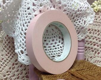 Roll Of Pastel Pink Decorative Masking Tape - 100 yards