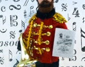 John Philip Sousa Doll Miniature Collectible Music Composer