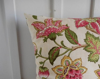 pillow cover cushion cover decorative pillow bright botanical 18X18