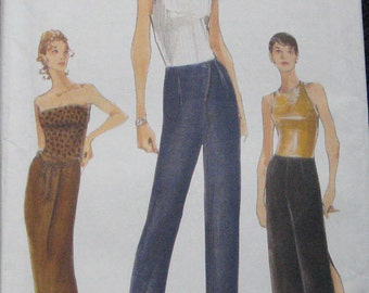 Vogue Very Easy Skirt Pants Pattern 9880