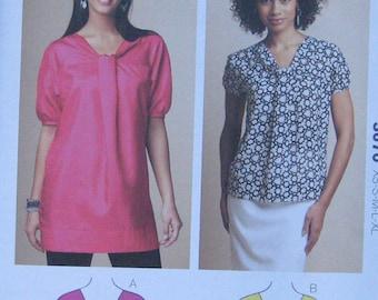 Kwik Sew Misses Top Tunic Pattern 3670