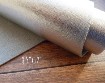 Metallic Felt Sheet - Silver - 8.5 x 12 - You Pick Quantity