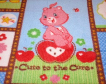 """Care Bears """"Cute to the Core""""  Blanket"""