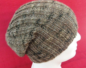 Free Hat Knitting Patterns Straight Needles : RIBBED HAT KNITTING PATTERN STRAIGHT NEEDLES   KNITTING PATTERN