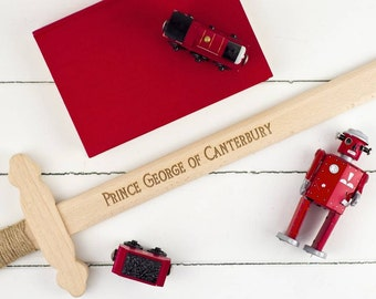 Personalised Wooden Toy Sword