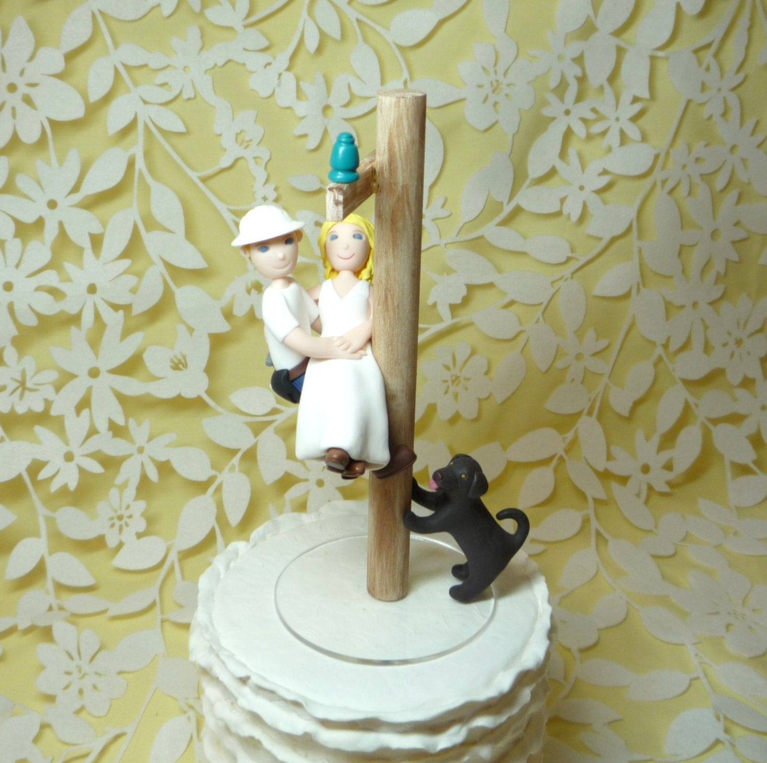 Electrician Cake Topper
