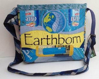 Earthborn Upcycled Fused Plastic Tote