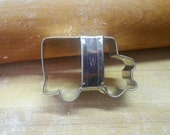 """School Bus 2"""" Mini Cookie Cutter With Custom Handle By West Tinworks"""