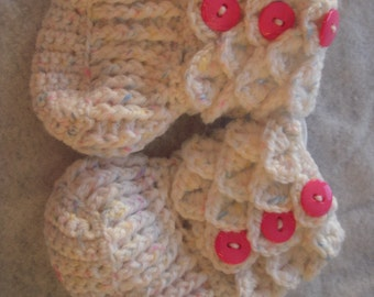 Ruffled Booties Crochet