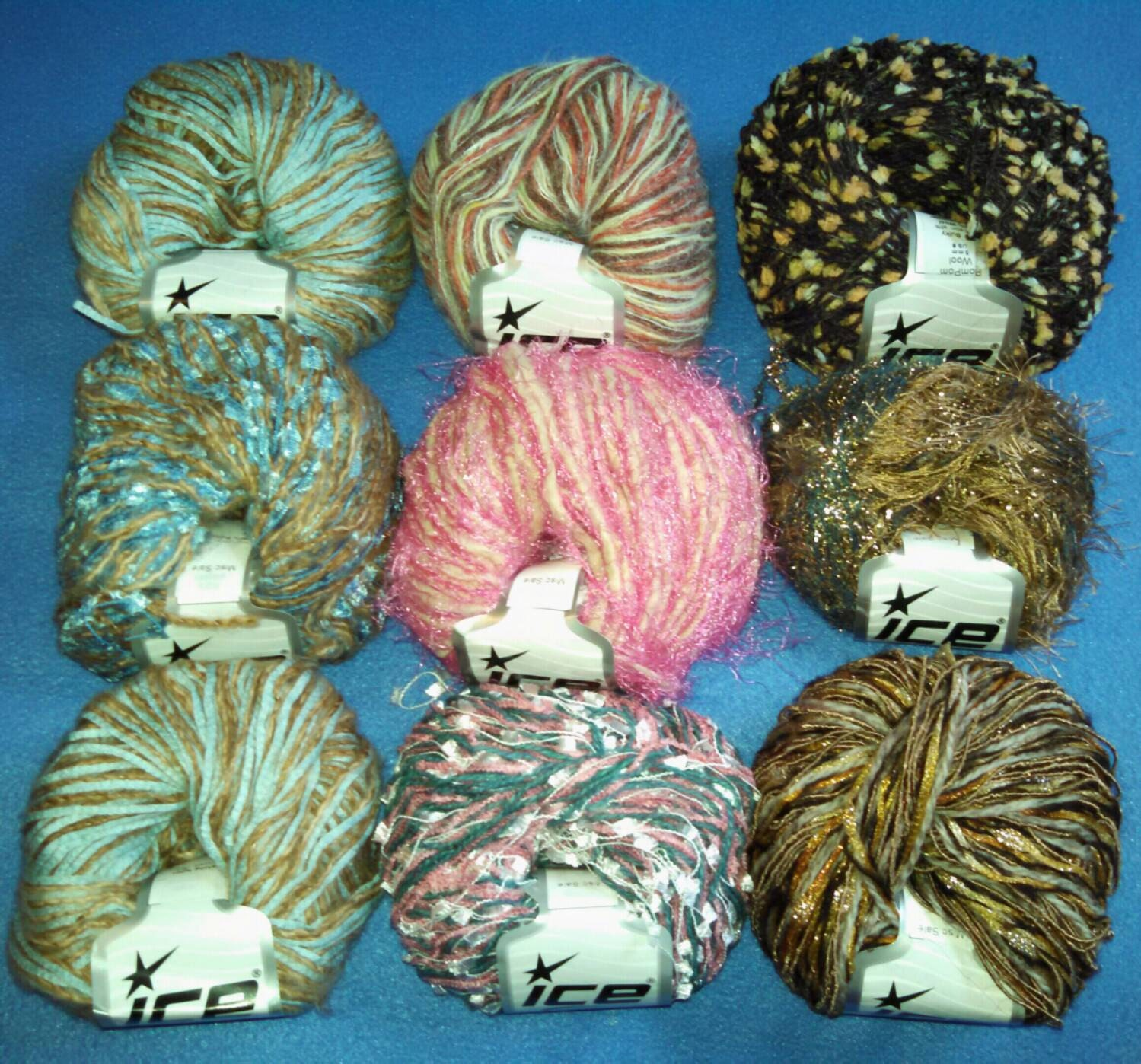 Novelty Yarn : Multi-Strand Novelty Yarn by Ice Yarns three by designsbymisschris