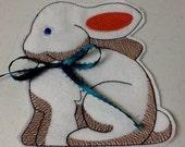 Easter Bunny Basket Filler - White Chocolate Easter Bunny Treat Bag, Gift Card Holder