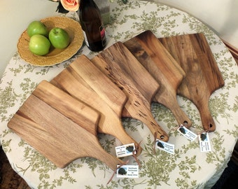 Myrtlewood or Cherry Cutting Board Small Wooden Made In Oregon
