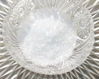 German Glass Glitter 40 Grit Diamond Dust 1 Ounce Shards Coarse