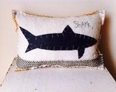 Organic Style Shark Pillow
