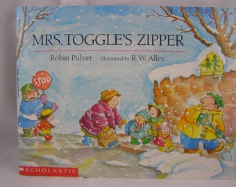 Mrs. Toggle's Zipper, vintage children's book