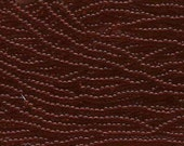 8/0 Garnet Transparent Genuine Czech Glass Preciosa Rocaille Seed Beads 39 grams