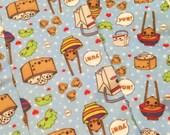 Cartoon Kawaii Dumplings All Over Print Tights