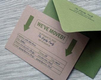 Custom Moving Announcement Moving Box Theme - DESIGN FEE
