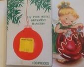 vintage commodore ornament hangers