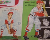 baseball boy birthday cards