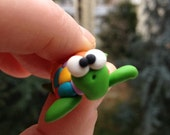 Turtle Little Polymer Clay Creation by bdbworld on Etsy  No 4