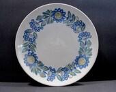 Salad Plates Tor Viking Mid Century Modern Figgio Flint, Norway designed by Turi Gramstad-Oliver, Vintage Dinnerware