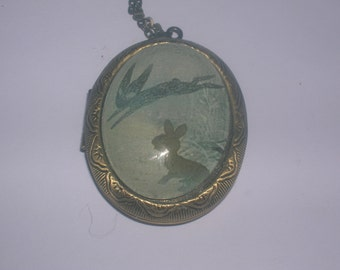 watership down locket. Fiver and the black rabbit