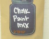 DIY 'CHALK' PAINT / Make your own chalk paint / chalk paint powder / chalkboard paint / chalk paint / how to chalk paint mix / chalk paint