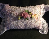 Victorian Style Pillow, made to order