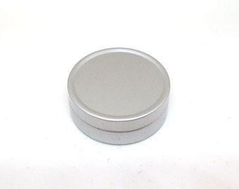 Tin Box, Round Tin Box, Small Tin Box - 1 pcs