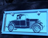 Etched Mirror of 1928  Model A Ford