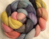 Handpainted Roving - Merino - Spinning and Felting Wool - New Zealand Organic