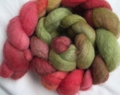 Hand Dyed Roving - Merino - Spinning and Felting Wool - NZ Organic