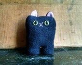 Black Cat Nubbin - Made To Order