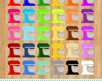 Kitchen Mixers Digital Clipart, clip art collection
