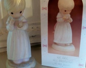 Precious Moments Rare We Are All Precious In His Sight Porcelain Figurine vintage Enesco SALE original Box 102903 annual issue for 1987 only