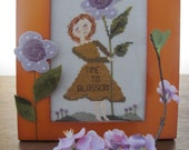 SALE Time To Blossom counted cross stitch design