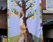 Wall hanging - applique and embroidery