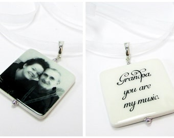 2 Bridal Bouquet Photo Charms - XLG - BC19