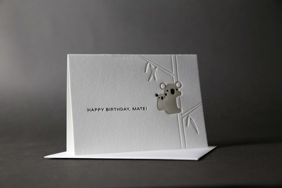 Koalas Happy Birthday